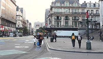 Vidéo 1 de promotion du service propreté de la ville de Bruxelles