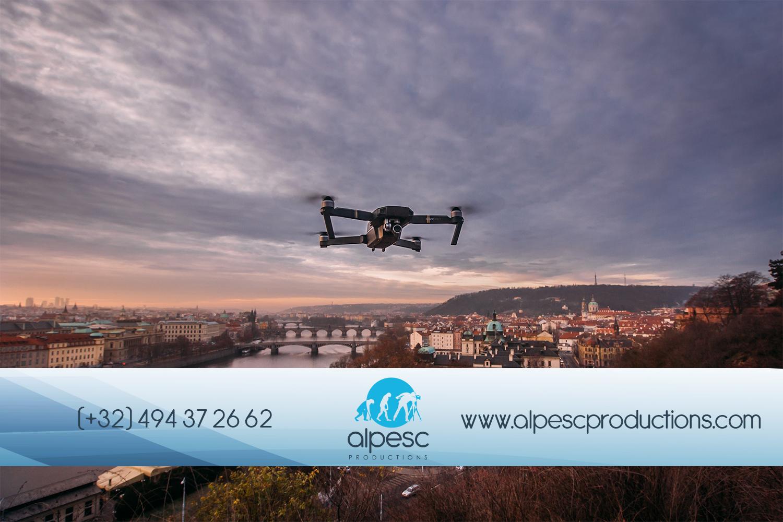 Une vue aérienne à l'aide d'un drone ? Pas si simple...
